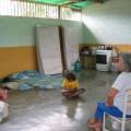 Señora Carmen refugiada en la Escuela Bolivariana Media Jornada Romeral III
