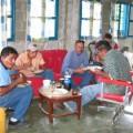 Personal obrero de Invilara, operador del pailover