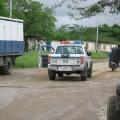 Patrulla policial en la vía Las Tunas - Cordero
