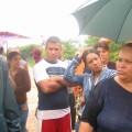 """Asociados del Consejo Comunal """"Pío Tamayo"""" en el sector Simón Bolívar"""