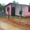 Inundación del sector Centro, carrera 4, de Romeral III