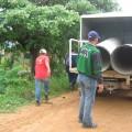 Comisión de Hidrolara, tubos PVC