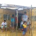 Casa de la señora Placida refugiada en escuela de Romeral III desde el día viernes 18/07/2008