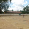 cancha deportiva comunidad Romeral III