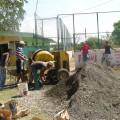 juventud romeraleña laborando en la rehabilitacion